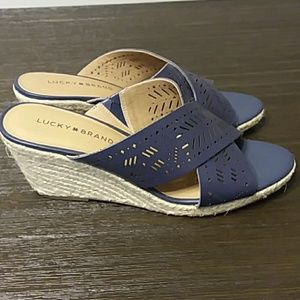 Lucky Brand Shoes - Lucky Brand Wedge Sandals